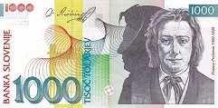 Словения: 1000 толаров 2004 г.