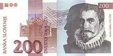 Словения: 200 толаров 1992 г.