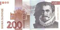 Словения: 200 толаров 1997 г.