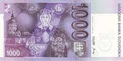 Словакия: 1000 крон 1993 (2000) г.