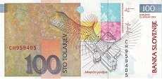 Словения: 100 толаров 2003 г.