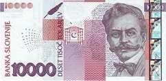 Словения: 10000 толаров 2004 г.