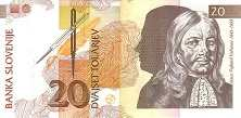 Словения: 20 толаров 1992 г.