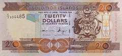 Соломоновы о-ва: 20 долларов (2004-11 г.)