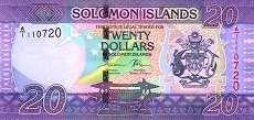 Соломоновы о-ва: 20 долларов (2017 г.)