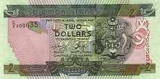 Соломоновы о-ва: 2 доллара (2004-11 г.)