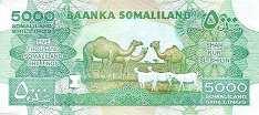 Сомалиленд: 5000 шиллингов 2011-12 г.