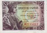 Испания: 1 песета 1943 г.