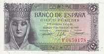 Испания: 5 песет 1943 г.