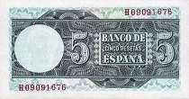 Испания: 5 песет 1948 г.