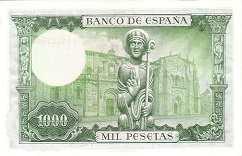 Испания: 1000 песет 1965 г.