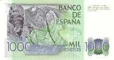 Испания: 1000 песет 1979 г.