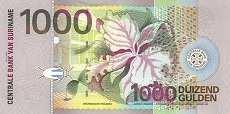 Суринам: 1000 гульденов 2000 г.