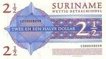 Суринам: 2 1/2 доллара 2004 г.