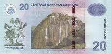 Суринам: 20 долларов 2010-12 г.