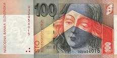Словакия: 100 крон 2001 г.