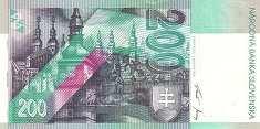 Словакия: 200 крон 1995 г.