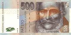 Словакия: 500 крон 2000-2006 г.