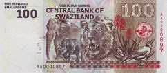Свазиленд: 100 эмалангени 2010 г.