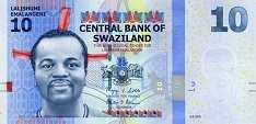 Свазиленд: 10 эмалангени 2010-14 г.