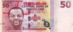Свазиленд: 50 эмалангени 2010 г.
