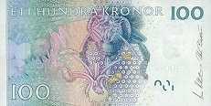 Швеция: 100 крон (2001-10 г.)