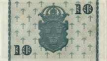 Швеция: 10 крон 1940-62 г.