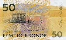 Швеция: 50 крон (1996-2003 г.)