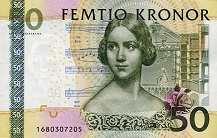 Швеция: 50 крон (2004-11 г.)