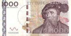 Швеция: 1000 крон (2005 г.)
