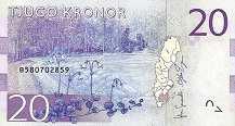 Швеция: 20 крон (2014-17 г.)