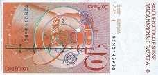 Швейцария: 10 франков 1979-92 г.