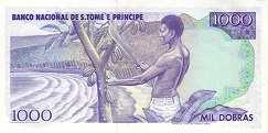Сан-Томе и Принсипи: 1000 добра 1977-89 г.