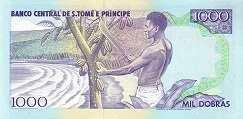 Сан-Томе и Принсипи: 1000 добра 1993 г.
