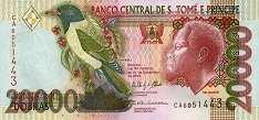 Сан-Томе и Принсипи: 20000 добра 1996-2013 г.