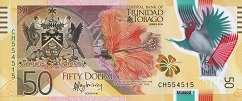 Тринидад и Тобаго: 50 долларов 2015 г.