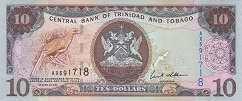 Тринидад и Тобаго: 10 долларов 2006 г.