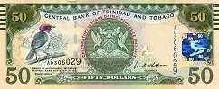 Тринидад и Тобаго: 50 долларов 2012 г. (юбилейная)