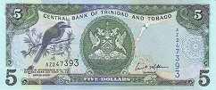 Тринидад и Тобаго: 5 долларов 2006 г.