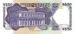 Уругвай: 50 песо (1988 г.)