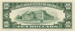 США: 10 долларов 1995 г.