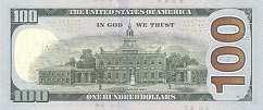 США: 100 долларов 2013 г.