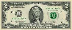 США: 2 доллара 2013 г.
