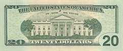 США: 20 долларов 2013 г.