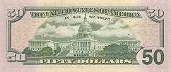 США: 50 долларов 2013 г.