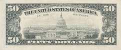 США: 50 долларов 1990 г.