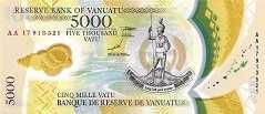 Вануату: 5000 вату (2017 г.)