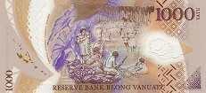 Вануату: 1000 вату (2014 г.)