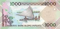 Вануату: 1000 вату 2005 г. (юбилейная)