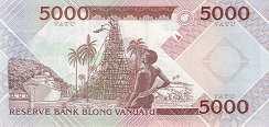 Вануату: 5000 вату (2006 г.)